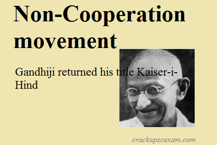 non cooperation in india role The three important milestones of india's pre independence history, namely the non-cooperation movement, the civil disobedience movement and the quit india movement, were launched and gathered momentum under the leadership of mahatma gandhi the first among these was the non-cooperation movement.
